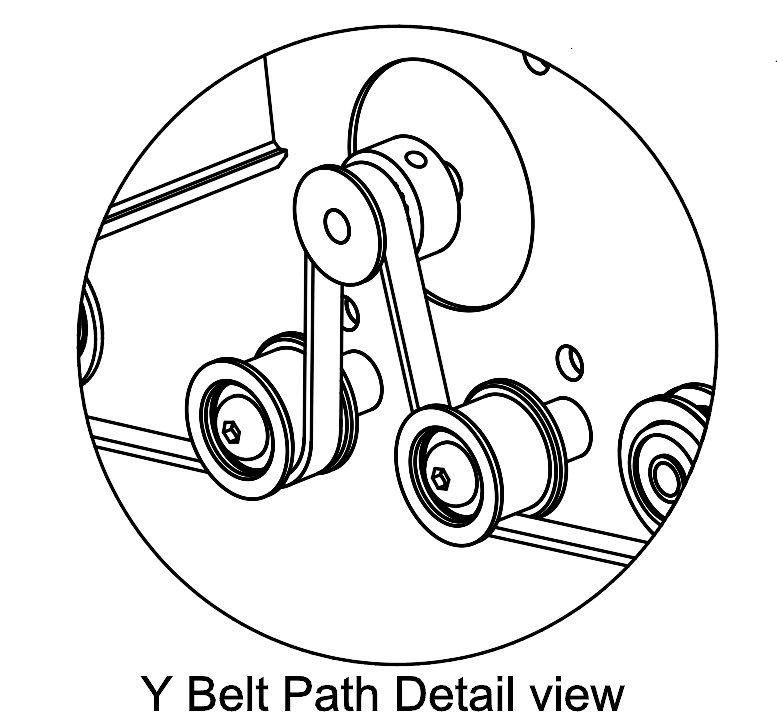 Belt Pulley Path